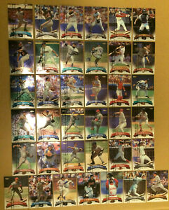 1998-Topps-Finest-Baseball-Lot-of-37-Cards-NM-Cal-Ripken-Alomar-Rodriguez-Thome