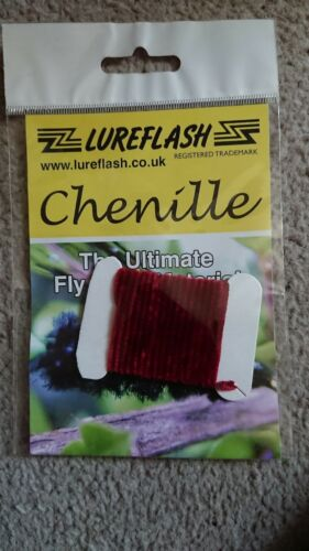 lureflash chenille claret