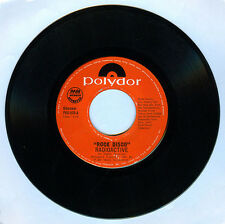 Philippines RADIOACTIVE Rock Disco 45 rpm Record