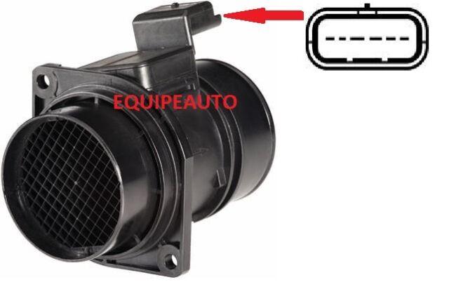 Débitmètre de Renault Laguna Movano Master 2.2 dci 1.9 dti =7700314057 5WK9609Z