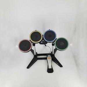 Harmonix-Rock-Band-wireless-Drum-Set-W-Pedal-XBDMS2-Xbox-360