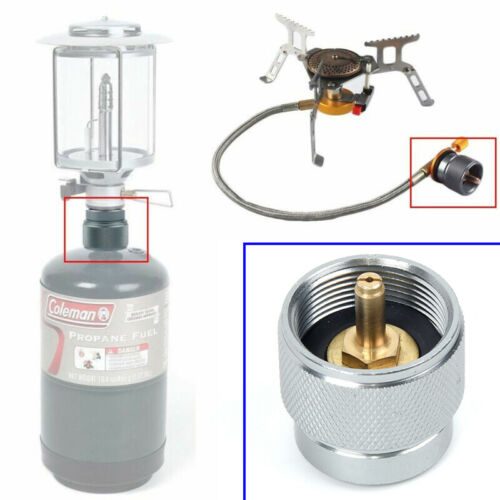 Camping Picnic Propane Tank Gas Refill Adapter Filling Butane Canister Cylinder
