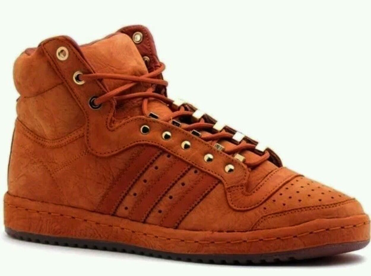 Adidas originali s85278 top ten - scarpe stivali red fox camoscio s85278 originali sz 14 nwt c9bb7f