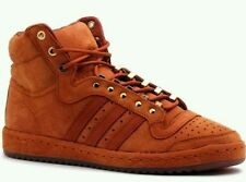 adidas Top Ten Hi Red Fox Lifestyle Shoes Brown Suede ( S85278 ) Sz ... dc3350e7a6fe