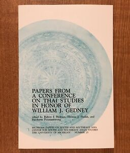 Papers-From-A-Conference-on-Thai-Studies-in-Honor-of-William-J-Gedney-1986