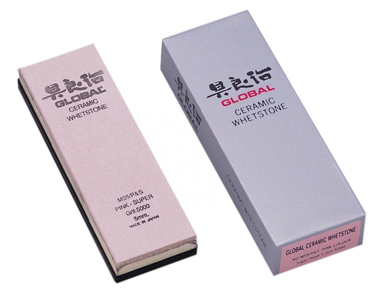 Global ms5 p&s Pierre à aiguiser finement rose Grain 5000 céramique