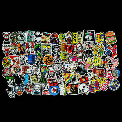 100* Vinyl Decal Graffiti Bomb Stickers For Car Luggage Laptop Skate Waterproof