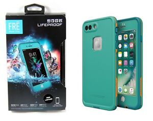 save off 6b935 7f219 Details about LifeProof FRE Waterproof Case For iPhone 8 Plus 7 Plus Sunset  Bay Teal Brand NEW