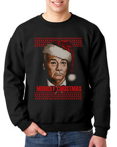 image is loading murray christmas ugly jumper sweater xmas bill scrooge