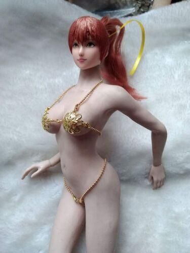 "1:6th Golden Bikini Sets For 12/"" Phicen Hot Toys Female Action Figure Doll Toys"