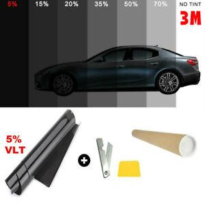 StickersLab Pellicola omologata ABG oscuramento Vetri Auto serie Black Shade 30/%, 50 cm x 3 metri StickersLab