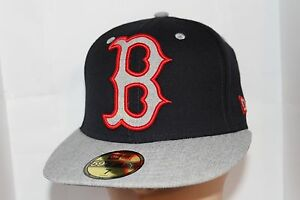 887cc6c07168cc Boston Red Sox New Era MLB Heather XL logo 59fifty,Cap Mookie Betts ...