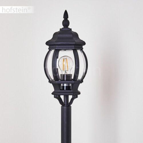 Aussen Steh Leuchten Lampen klassische Garten Wege Laterne Beleuchtung schwarz