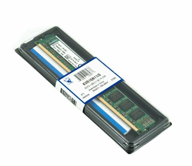 Kingston 8Go DDR3  (240 PIN)  1600 1600MHz PC3-12800 PC-12800DIMM Mémoire