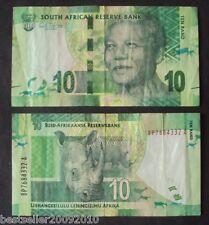SOUTH AFRICA 10 RAND NELSON MANDELA # 565