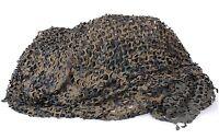 Large Ultra-lite Woodland Camo Netting Tarp Shelter 7'10x19'8 Military Quality
