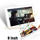 """9"""" Android 4.4 Tablet PC 1Gb+8GB Quad Core HD Camera Bluetooth Wifi Tablet LOT"""