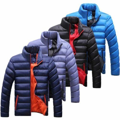 Abrigo Para Hombre Chaqueta Chamarras Camperas De Frio Nieve Parka De Invierno ✅