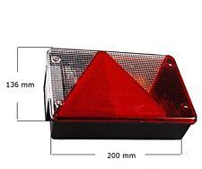 Aspöck Multipoint 4 IV Anhänger Rückleuchte Leuchte Licht Stema Trailor Rechts