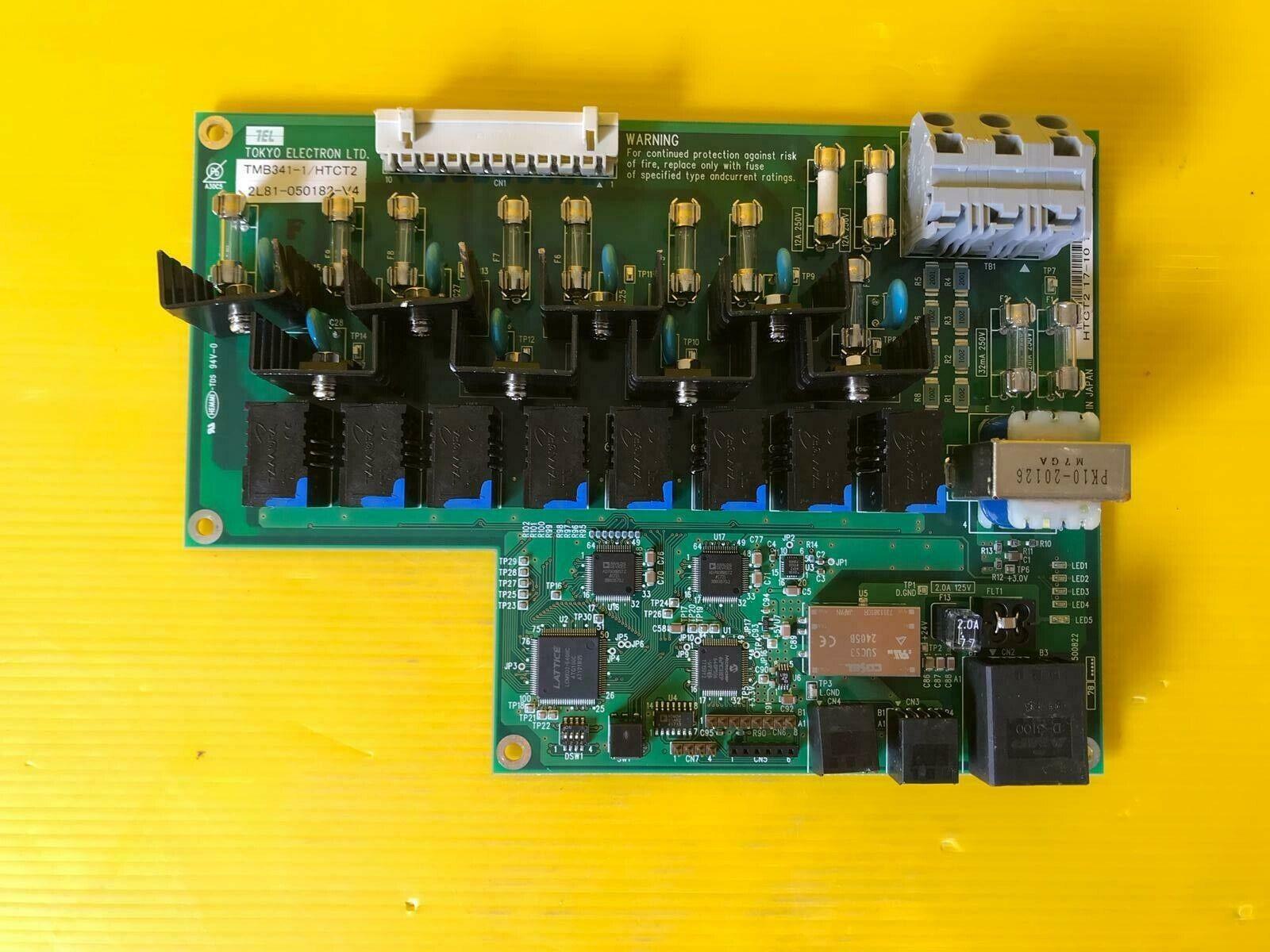 TOKYO ELECTRON TMB341-1 HTCT2 2L81-050182-V4 HTCT2 17-10 1917
