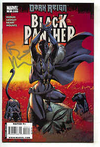 Black-Panther-3-Marvel-2009-VF-NM-J-Scott-Campbell-Signed-Reginald-Hudlin