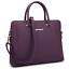 Women-Handbag-Sitching-Leather-Work-Satchel-Tote-Shoulder-Briefcase-Laptop-Bag thumbnail 1