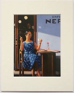 "The Ice Maiden by Jack Vettriano Mounted Art Print 10/"" x 8/"""