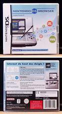 NINTENDO DS - Wifi Internet Browser / Navigateur Internet Wifi + Memory Pack