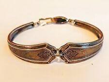 New Elegance 1947 Vintage Silver Plated Silverware//Flatware Spoon Bracelet