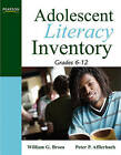 Adolescent Literacy Inventory, Grades 6-12 by William G. Brozo, Peter Afflerbach (Paperback, 2010)