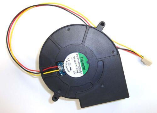 8.6 Watts SUNON SQUIRREL fan PMB1297PYB1-AY 3-pin 30.5CFM 55.8dBA 3600RPM