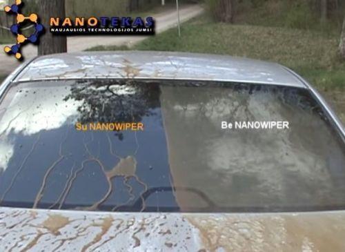 Nanotec Pro Glass LONG LASTING Nano Wiper for glass shield windshield protection