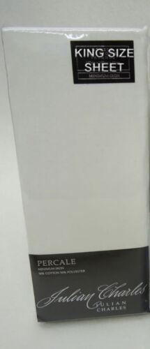 Feuille de taille King monté ou plat crème