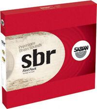 "Sabian SBR5001 Brass SBr First Pack Cymbal Pack (16"" Crash, 13"" Hi Hats)"