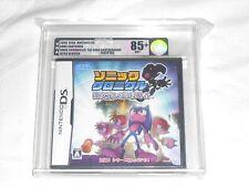 NEW Sonic Chronicles Dark Brotherhood JAPAN Nintendo DS VGA GRADED 85+ GOLD NM+
