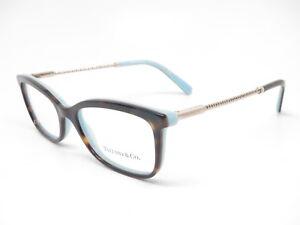 67d70bc9c677 Tiffany   Co TF 2169 8134 Havana Blue Eyeglasses 53mm TF2169 Rx-able ...