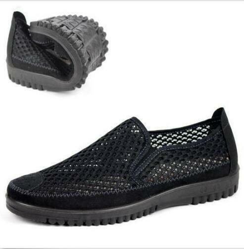 Mesh breathable sport sandals casual outdoor shoes Slip On summer sneaker Men's