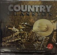 Country Classics - Disc 2 - 12 Track Music Cd - Brand - G580