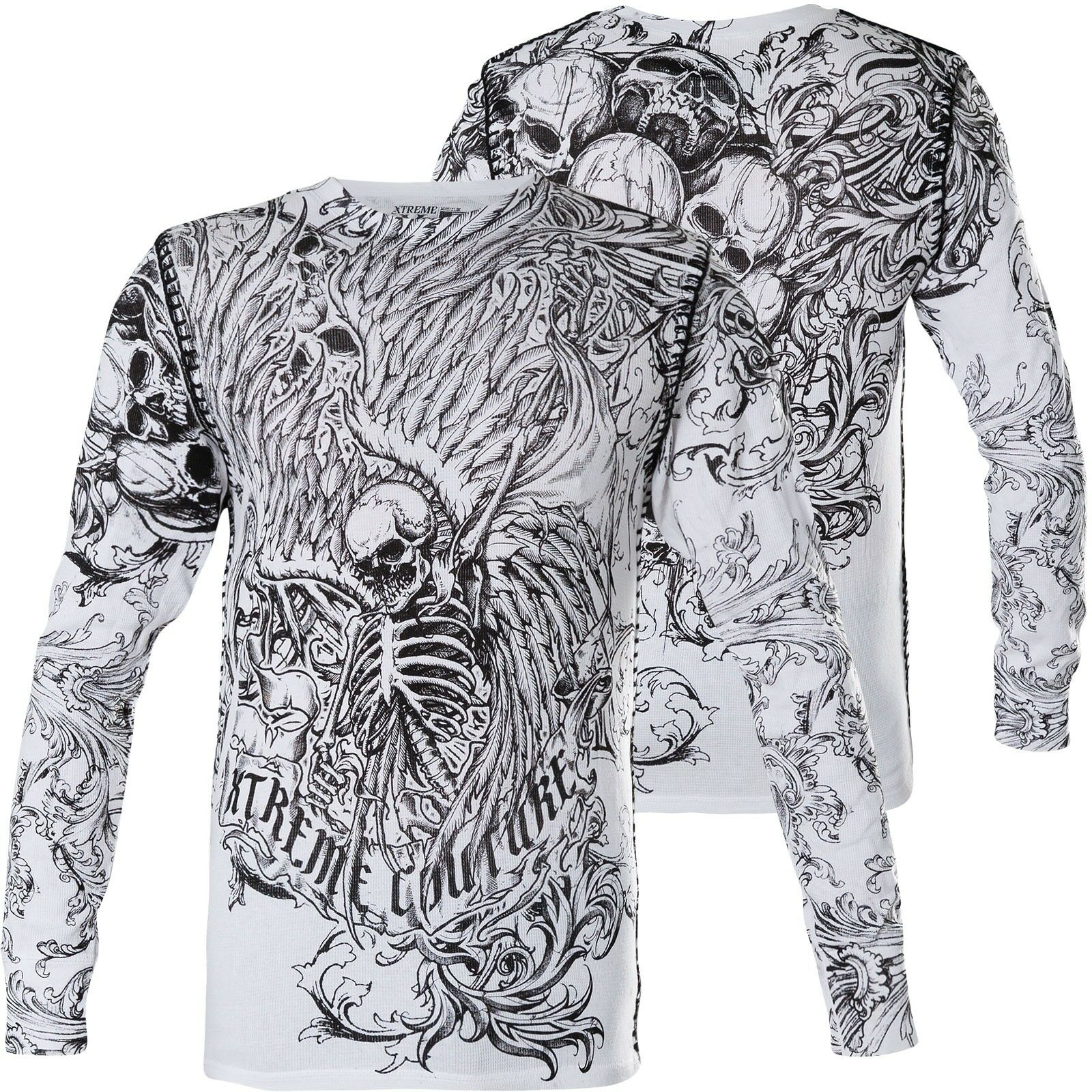 XTREME COUTURE BY AFFLICTION Pullover The Accuser Weiß Sweatshirts