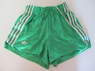 Short ADIDAS vintage nylon VENTEX vert années 80 sport collection 95 L D 52 I 5 | eBay
