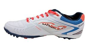 08c33d3a1 Image is loading Joma-Dribling-602-White-Blue-Orange-Turf-Soccer-