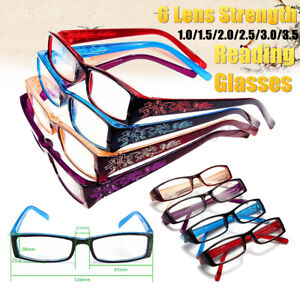 f24b8faf9a Image is loading New-Fashion-Women-Rimed-Reading-Glasses-Resin-Eyeglasses-
