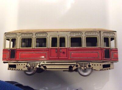 Modestil Antikspielzeug Günthermann Strassenbahn Spielzeug Eisenbahnen