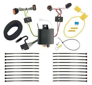 trailer wiring harness kit for 17-19 kia sportage all styles plug & play  t-one | ebay  ebay