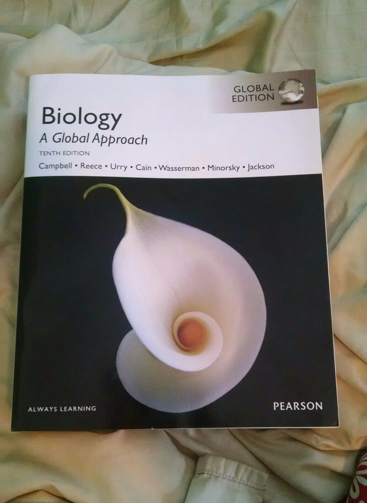 Campbell biology a global approach tenth edition 10th ed 10e ebay resntentobalflowflowcomponenttechnicalissues fandeluxe Images