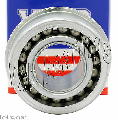 """Heavy Duty Flanged Full Complement Wheel Ball Bearing 3/8""""Bore ID 0.375 inch"""