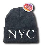For Men Women nyc York Funny Hop Snowboard Ski Long Beanie Hat One Size