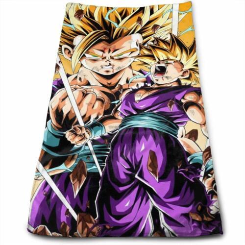 Dragon Ball Z Super Stripe Face Towel 1 Sheet DIY 3D Oukkmiki