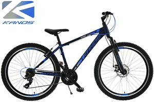 26 Zoll jungen fahrrad Kands Battle Shimano21 Gänge Scheibenbremse Blau