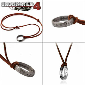 New Uncharted Nathan Drake S Ring Necklace Pendant Cosplay Gaming
